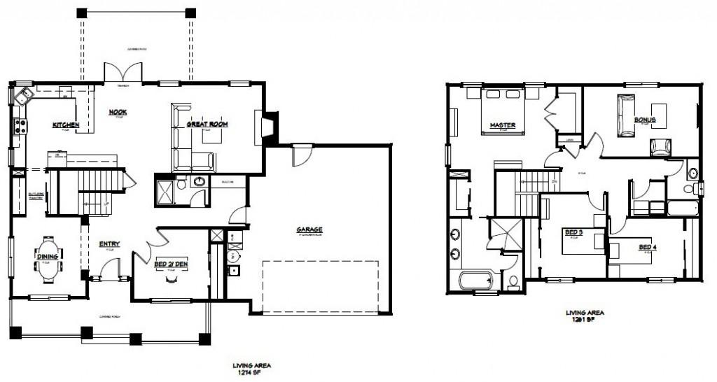 Elk Ridge Custom Homes Model 2535